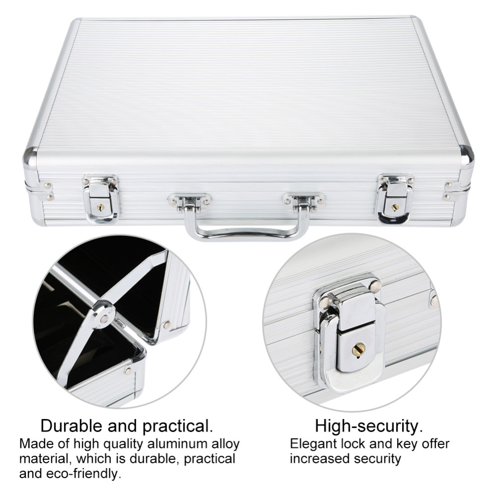 все цены на 24 Grids Watch Display Suitcase Storage Box Case for Watch Organize Empty Watch Collect Container Simple Fashion Storage Tools