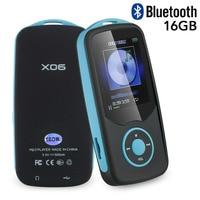Mp4 Player Upgraded Version RUIZU X06 16GB Portable Bluetooth Music Player With FM Radio Voice Recorder