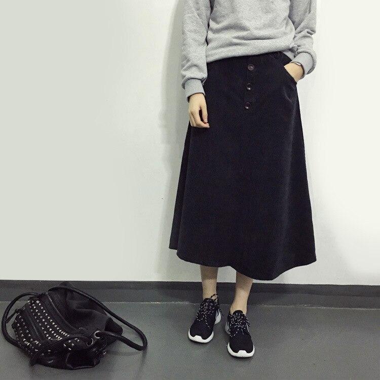 Школьные длинные черные юбки