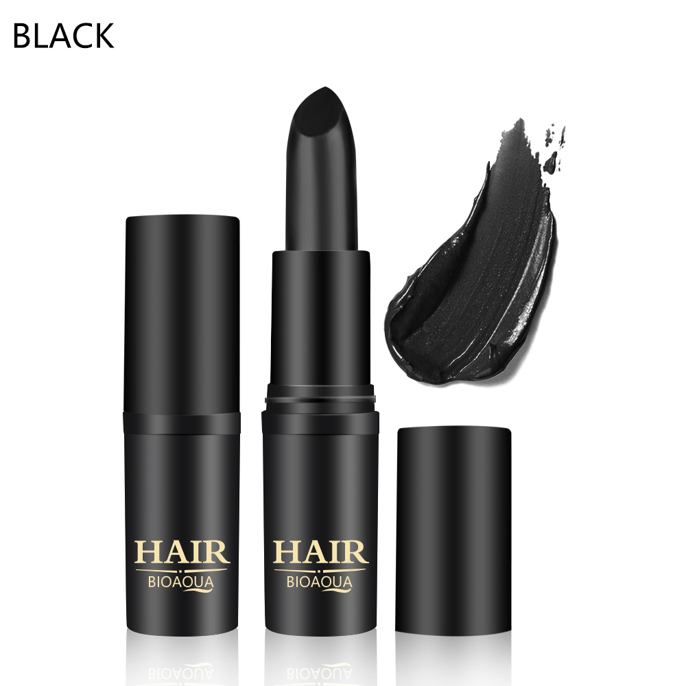 BIOAQUA Long Lasting Temporary Crayons Hair Color Pen Fast Temporary Hair Dye To Cover White Hair Dyed Hair Pen Makeup Stick in Hair Color from Beauty Health
