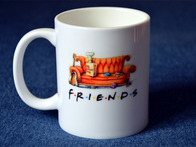 US $10 0 |Friends tv show central perk Rachel ross joey chandler Phoebe  white mug cup -in Bottles,Jars & Boxes from Home & Garden on Aliexpress com  |