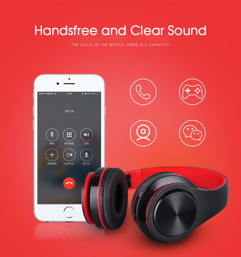 4 Bluetooth Wireless Headphones