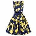 Женщины Летние Платья Одри Хепберн Сексуальная Халат Pinup Rockabilly 50 s 60 s Vintage Dress Vestidos Хлопок Jurken Ретро Случайный Dress
