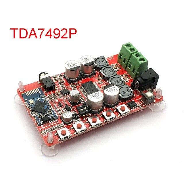 TDA7492P 50 Вт + 50 Вт Bluetooth 4,0 Плата усилителя беспроводного цифрового аудиоприемника