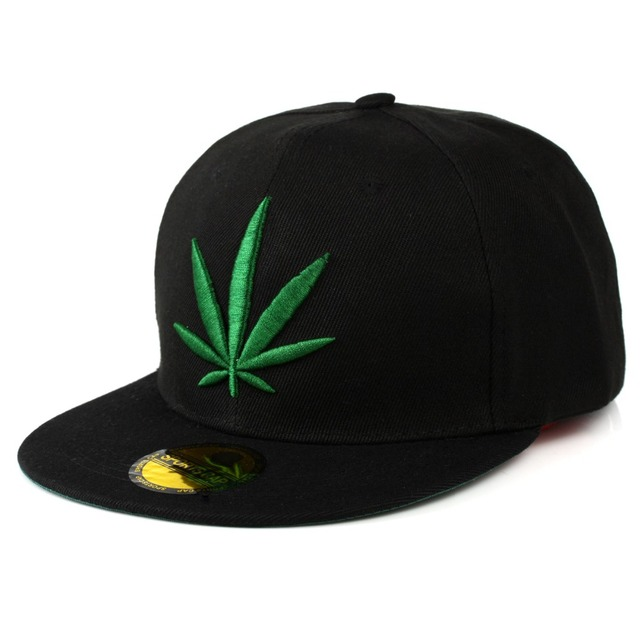 c6d7ff00334 Aliexpress.com   Buy Fashion Weed Snapback Caps Hats Hip Hop Baseball Cap  Strapback Men Women Bone Aba Reta Gorras Homme Casquette Weed Leaf Snapback  from ...