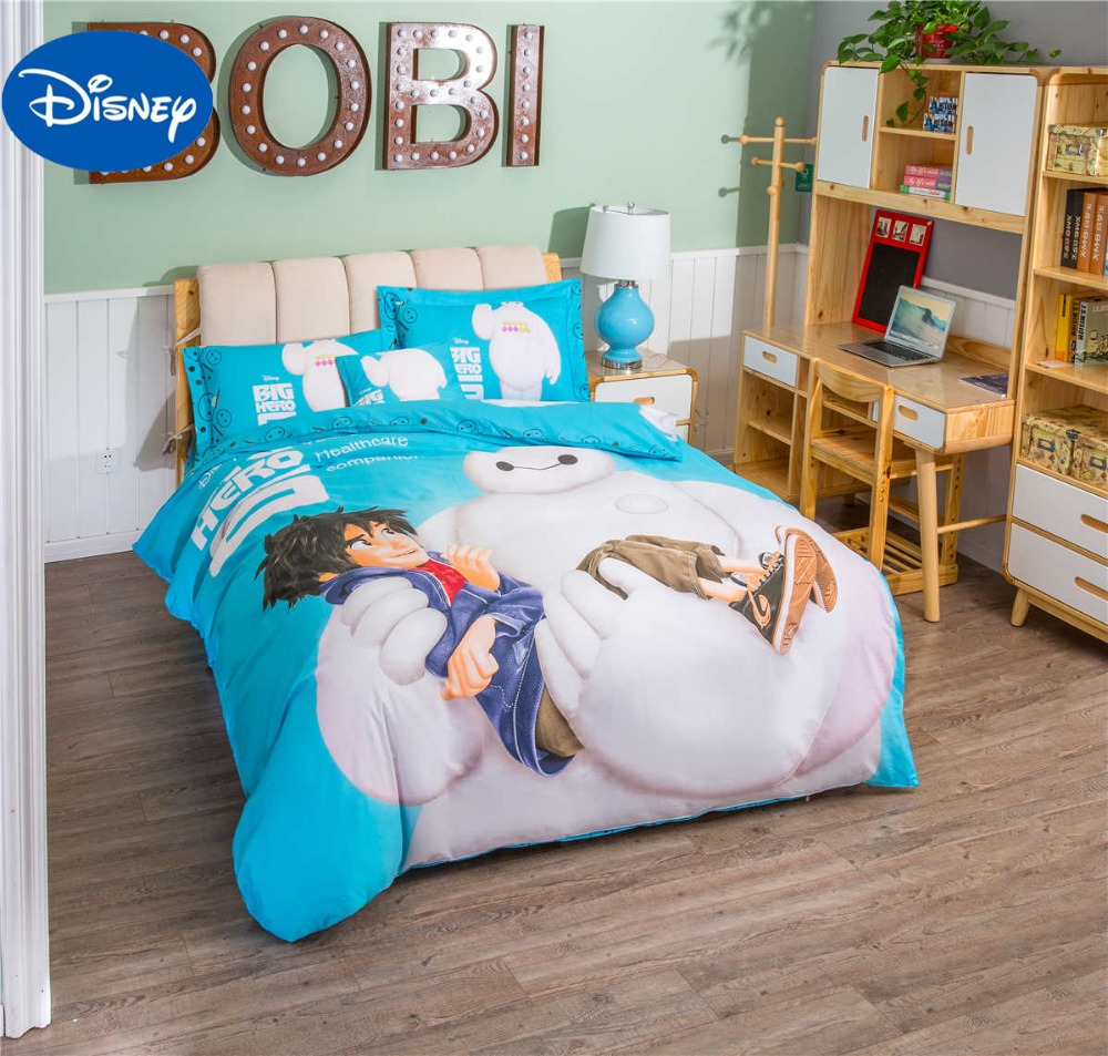 Big Hero Baymax Comforter Bedding Set Singletwin Full