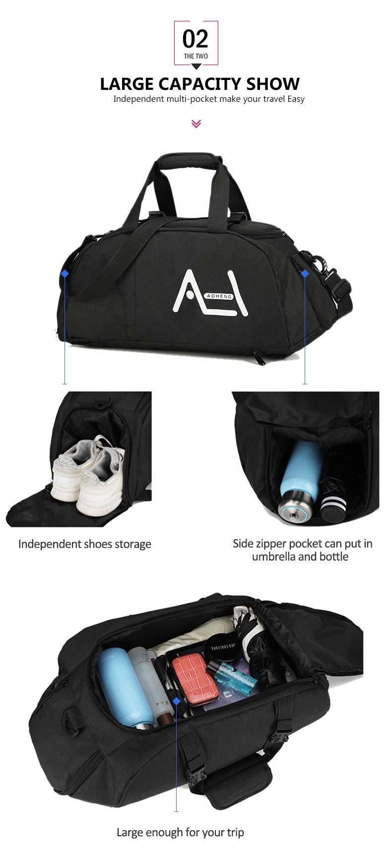 Women Gym Bags Sac De Sport For Fitness Training Men Sporttas Sports Backpack Travel Bag Yoga Luggage Mochila Shoulder Tas XA20A