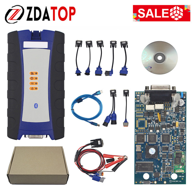 NEXIQID 2 USB Link NEXIQI2 Bluetooth Diesel Truck Diagnostic Tool NEXIQID 125032 USB Linking Truck V9.6.0.2 Better Than DPA5