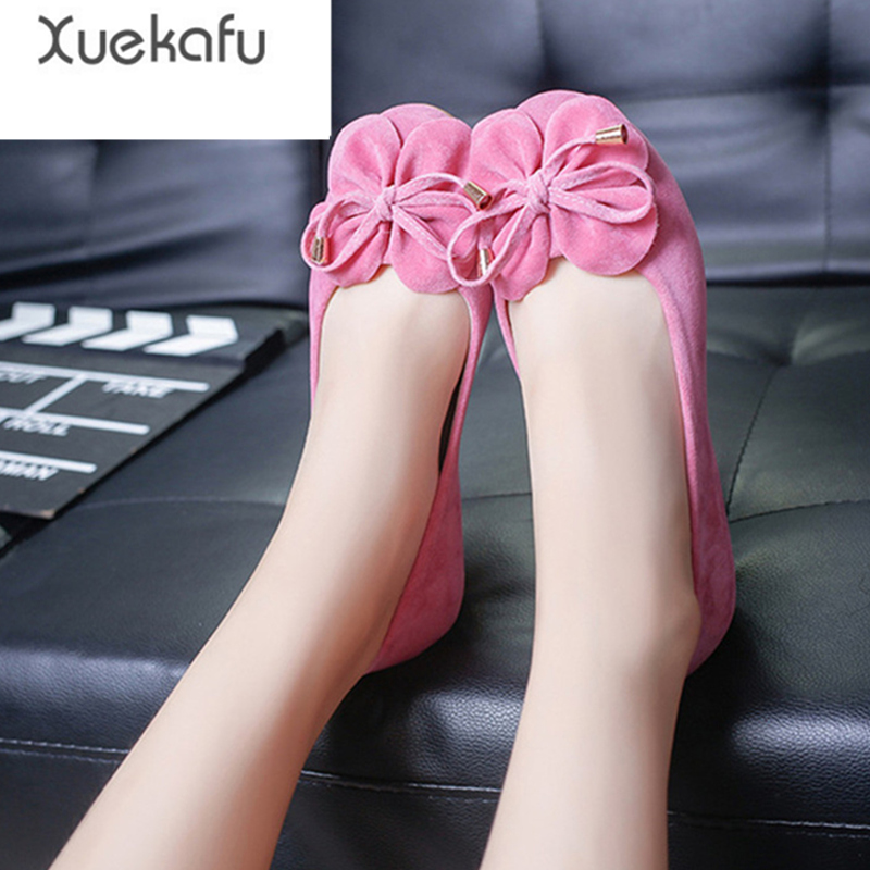xuekafu 2017 new shoes woman flat shoes women solid ladies casual loafers fashion flats spring autumn summer female slip on shoe xiaying smile woman flats women brogue shoes loafers spring summer casual slip on round toe rubber new black white women shoes