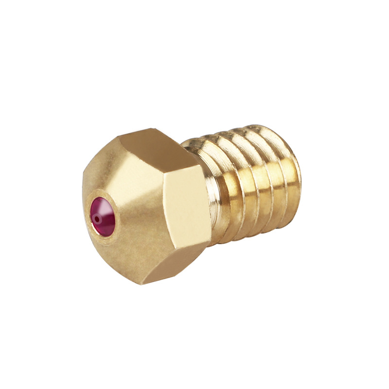 E3D rubis saphir buse 0.4 MM 1.75 MM pour matériaux spéciaux PETG ABS PEI PEEK NYLON e3d V5 V6 PRUSA I3 MK3/LulzBot 3d priner