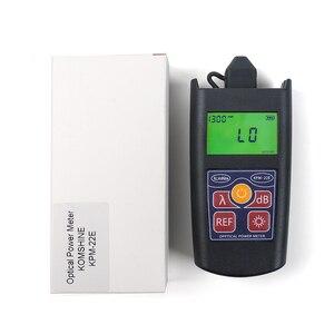Image 2 - Komshine أحدث تحديث KPM 22E الألياف البصرية فقدان اختبار أداة جيب الطاقة البصرية متر wattmeter