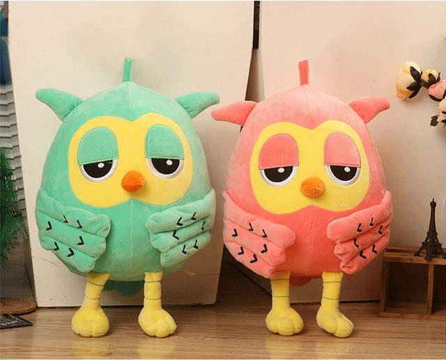 South Korea The Same Paragraph Korean Owl Plush Toy Doll Birthday Gift Creative Wedding Decoration