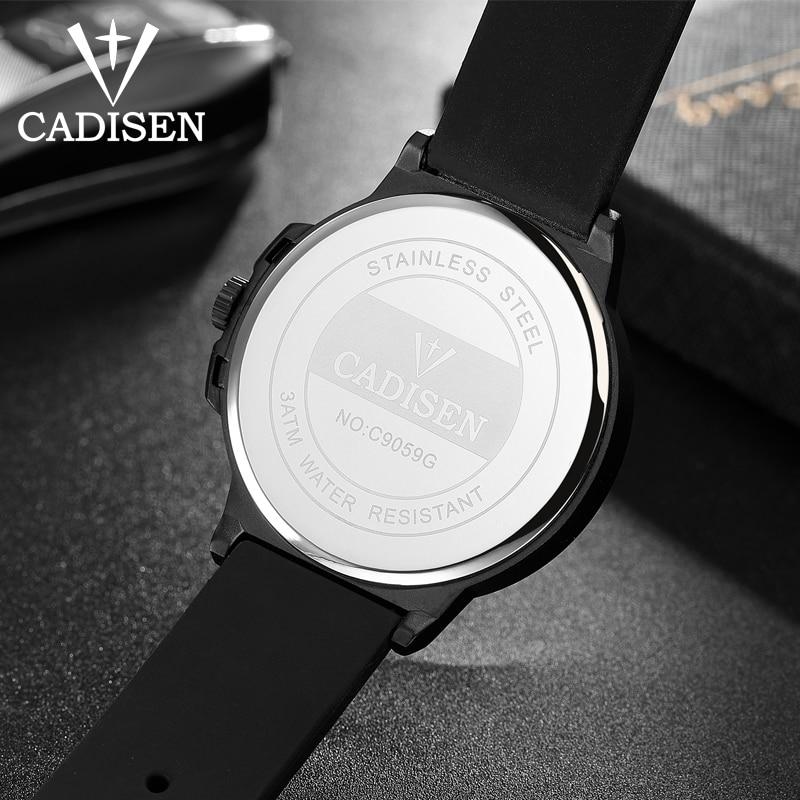 Nuevo CADISEN Deporte Reloj de Cuarzo Impermeable Relojes Para Hombre - Relojes para hombres - foto 4