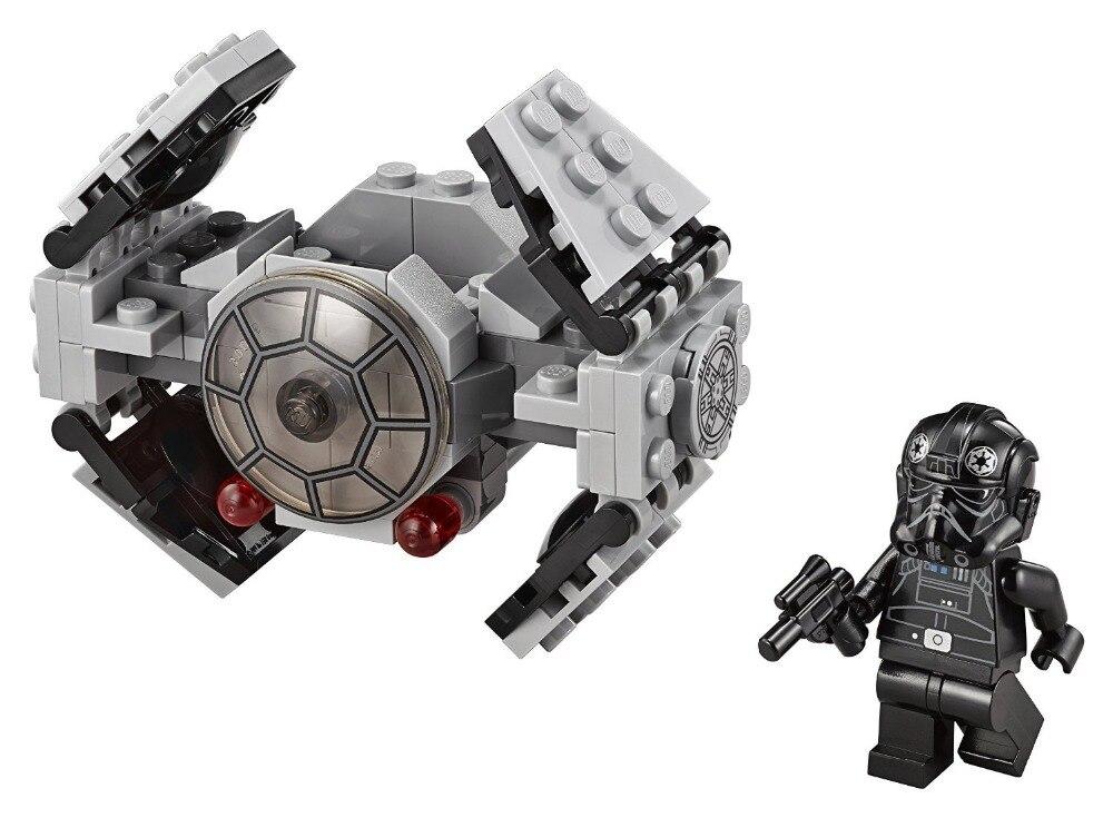 LEPIN Star Wars TIE Advanced Prototype TM Building Block Set TIE Pilot Minifigures legoe 75128 Compatible