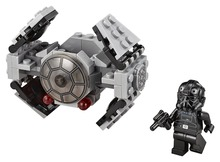 LEPIN Star Wars TIE Advanced Prototype TM Building Block Set TIE Pilot Minifigures legoe 75128 Compatible