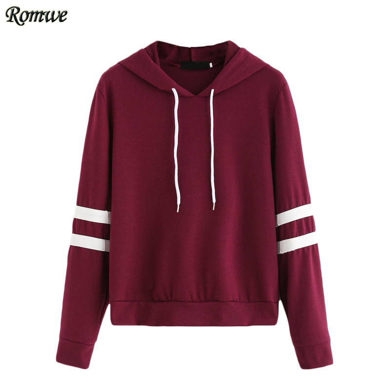 ROMWE Casual Women Hoodie For Autumn Lads