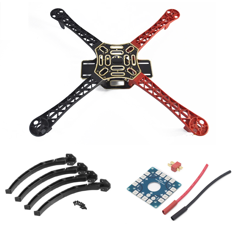 F450 Drone With Camera Flame Wheel KIT 450 Frame For RC MK MWC 4 Axis RC Multicopter Quadcopter Heli Multi-Rotor with Land Gear extra power board for walkera f210 multicopter rc drone