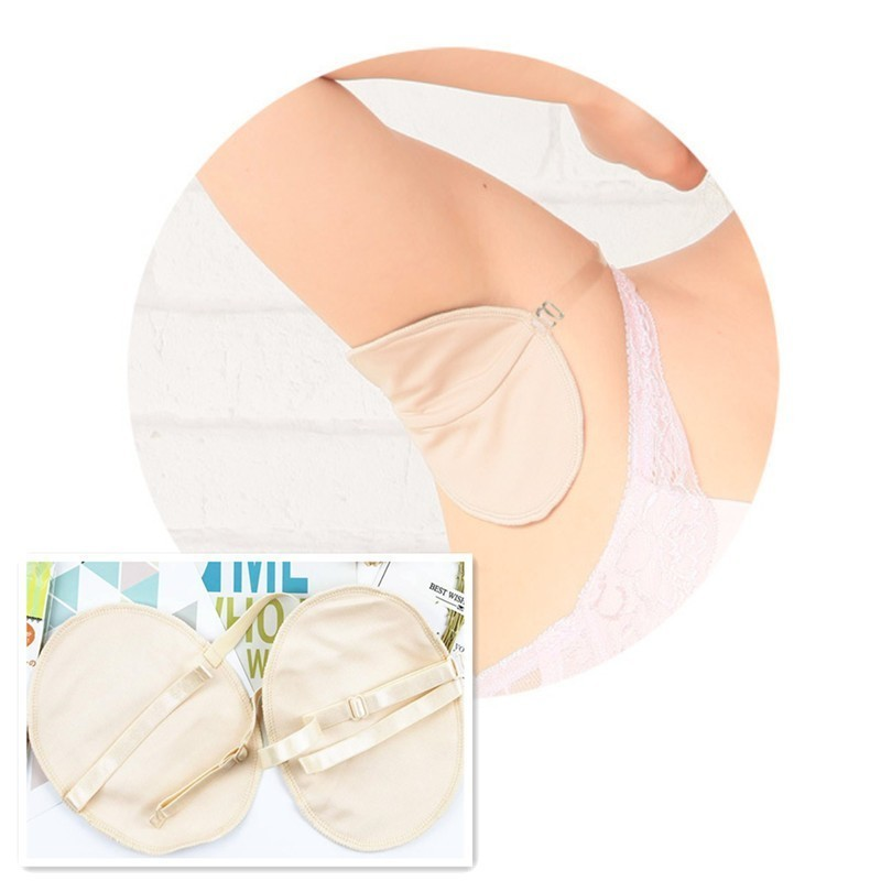 1 Pair New Washable Deodorant For Armpit Absorbing Deodorant Antiperspirant Stop Underarm Clothing Sweat Perspiration Pads