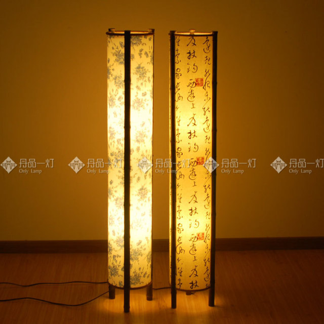 Southeast asian origin bamboo floor lamp japanese korean hotel southeast asian origin bamboo floor lamp japanese korean hotel beauty salon lighting fixtures living room aloadofball Images
