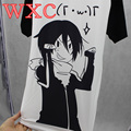 Noragami Women Cool Shirt School Clothes Patchwork Female Harajuku Shirt Japan Anime Kawaii Tops WXC