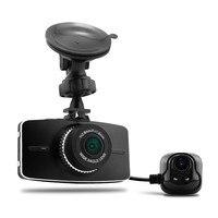 G516 Dual Lens Car DVR Ambarella A7LA70 Two Cameras Full HD 1080P 30fps H 264 G