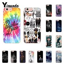 Yinuoda Panic At The Disco Soft Silicone Phone Case for iPhone 8 7 6 6S Plus X XS MAX 5 5S SE XR 10 Cover Capa