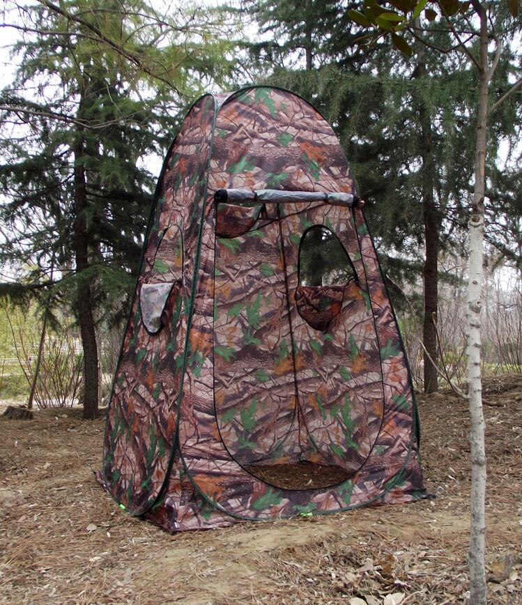 Camouflage extérieur nichoirs pêche baignade photographie chaude modèles vêtements changeants tentes toilettes mobiles