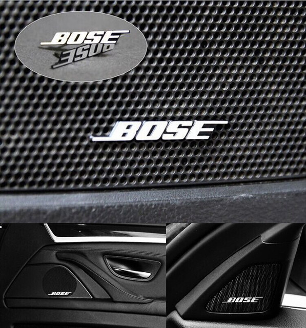 bose car speakers. free shipping, wholesale bose 10 pcs aluminum car speaker badges with pin style emblem bose speakers n