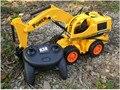 ALAMBRE DE camiones de control remoto de vehículos de Construcción para niños juguetes clásicos precio más bajo del envío libre regalo de los niños