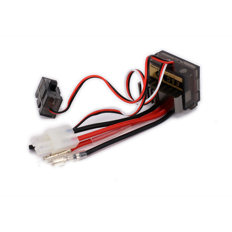 Bidirectional 320A 7.2V 20T Brushed Electrical Speed Controller(ESC) with heat sink for 1/10 RC Car/boat HSP Wltoys Tamiya hi speed 03011 rs540 26 turn brushed electric engine motor 540 320a brush esc for rc hsp 1 10 speed controller fit himoto redcat