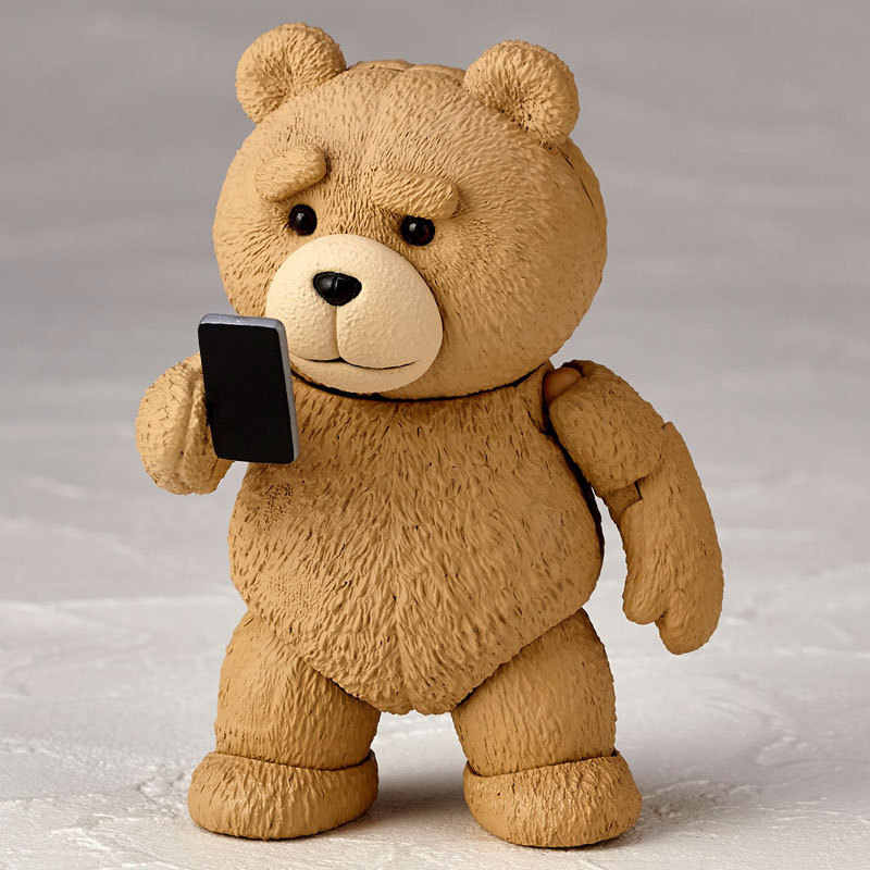 Filme ted 2 10cm encaixotado ted teddy bear bjd figura modelo brinquedos