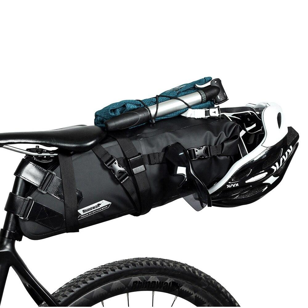 Road bike bag Cycling bag pannier travel bag Road bike trunk bag Rhinowalk 10L waterproof bicycle