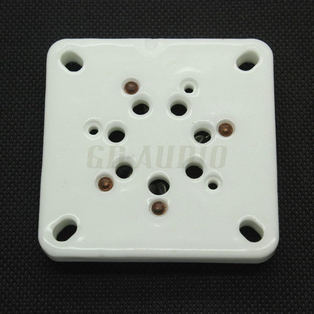 GZC7-4 7pin U7B Ceramic Tube Socket For Russia GM70 GM-70 GM-71 74 Hifi Vintage Amplifier DIY 1PC