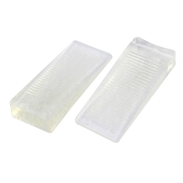 Rubber Home Office Door Stopper Jam Block Safety Wedge 2 Pcs White  sc 1 st  AliExpress.com & Rubber Home Office Door Stopper Jam Block Safety Wedge 2 Pcs White ...