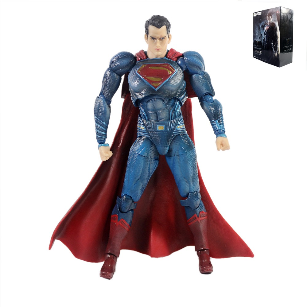 Batman V Superman Dawn of Justice Play Arts Kai No.2 Superman Action Figure Free Shipping