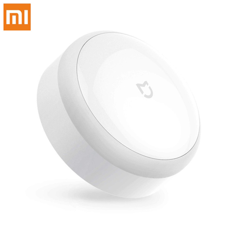 Original Xiaomi Mijia Smart Body Infrared Night Light Perception LED Remote Control Corridor Motion Sensor Night Lamp 1x led night light lamps motion sensor nightlight pir intelligent led human body motion induction lamp energy saving lighting