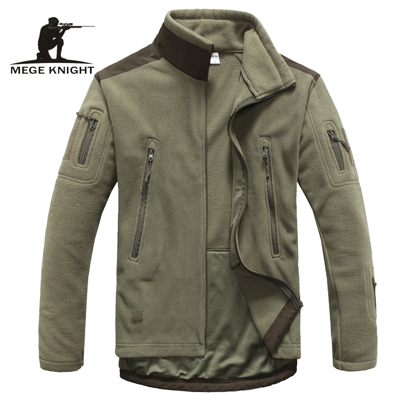 Mens Clothing Autumn Winter Fleece Army Jacket Softshell Clothing For Men Softshell Military