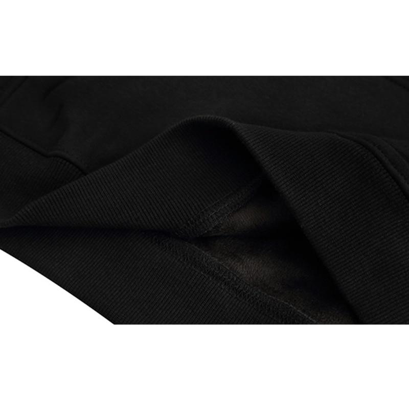 Streetwear Polaire Lettre Hip Loisirs De Hoodies Hommes À Épaisse Graffiti Et Sweat Impression Black Hop Automne D'hiver Capuche pFwRqS