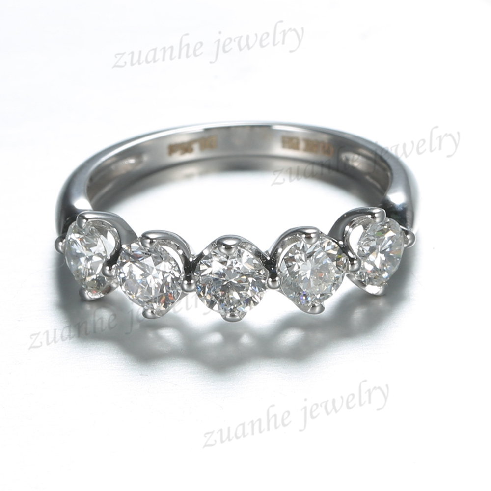 collection platinum five diamonds durban rings diamond back stone white cape to select cluster ring gold engagement