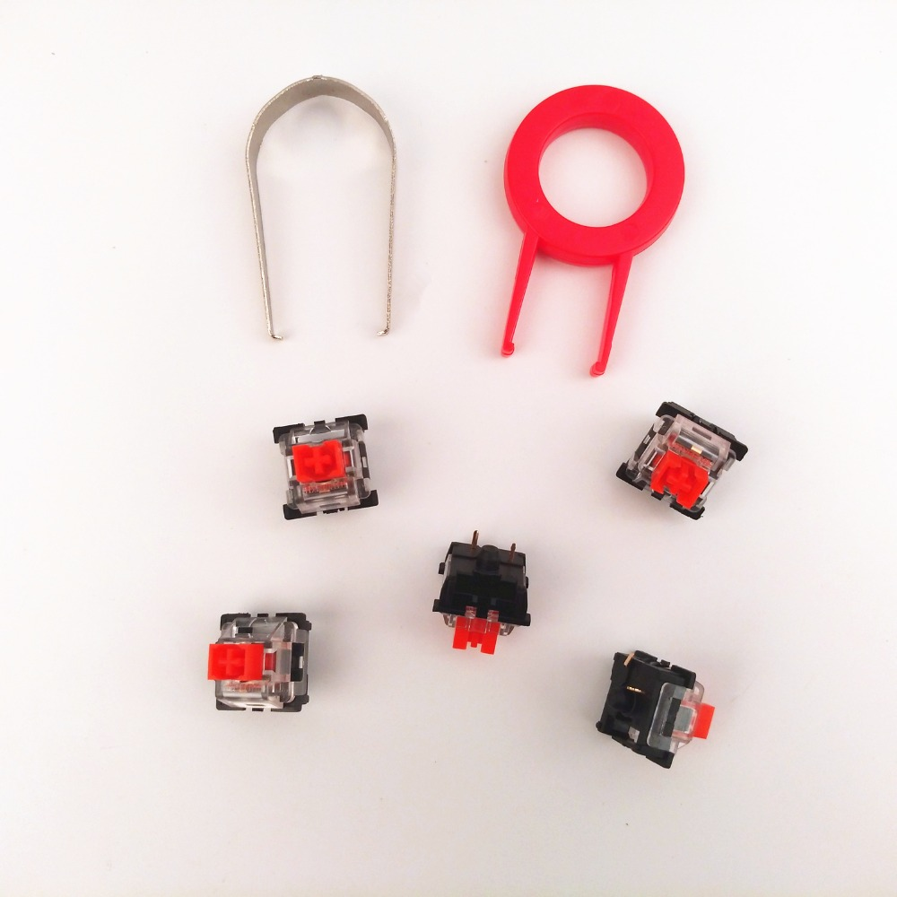 Outemu MX Series Keyswitches - Blue Red Black Tawney Switch For Mechanical Keyboards Switches Replacement And DIY
