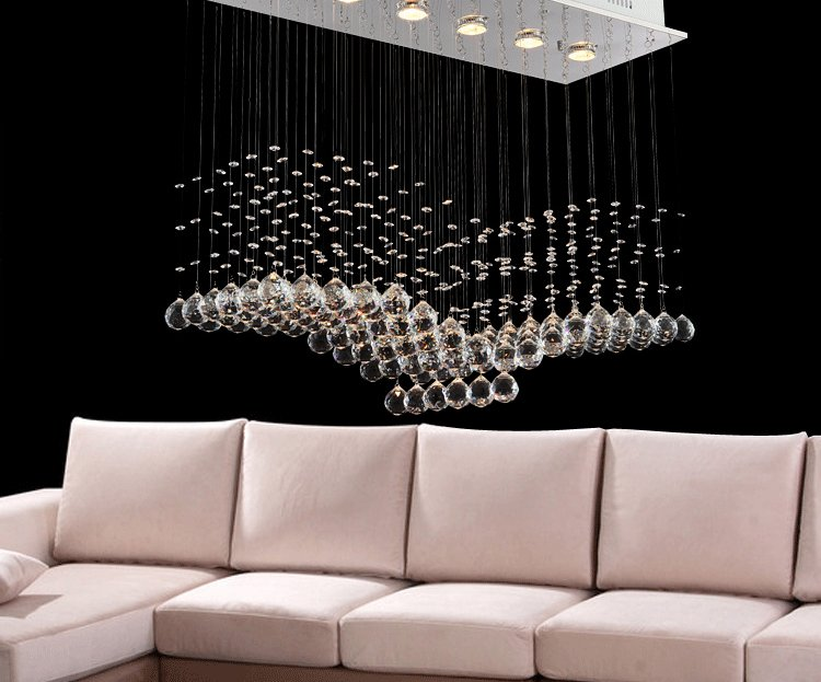 Modern Rectangular Chandeliers compare prices on contemporary house interiors- online shopping