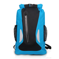 Aricxi Outdoor Camping Climbing Hiking Backpack Waterproof Bag Folding Backpack Dry Sack Bag For Canoe Kayak Rafting Sport Bag