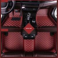 Custom car floor mat for SKODA Yeti Octavia Superb Fabia Rapid Spaceback Kodiaq KAROQ KAMIQ auto styling foot Pads Car carpet