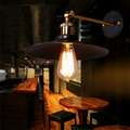 Americano Do Vintage Lâmpada de Parede Interior iluminação de Cabeceira de Ferro Lâmpada Estilo Loft Quarto Luzes de Parede para Casa 110 V/220 V E27 Frete Grátis