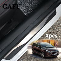 For Opel Zafira c Stainless Steel Door Sill Scuff Plate For Vauxhall Zafira Tourer c Car Styling Stickers Accessories 4pcs