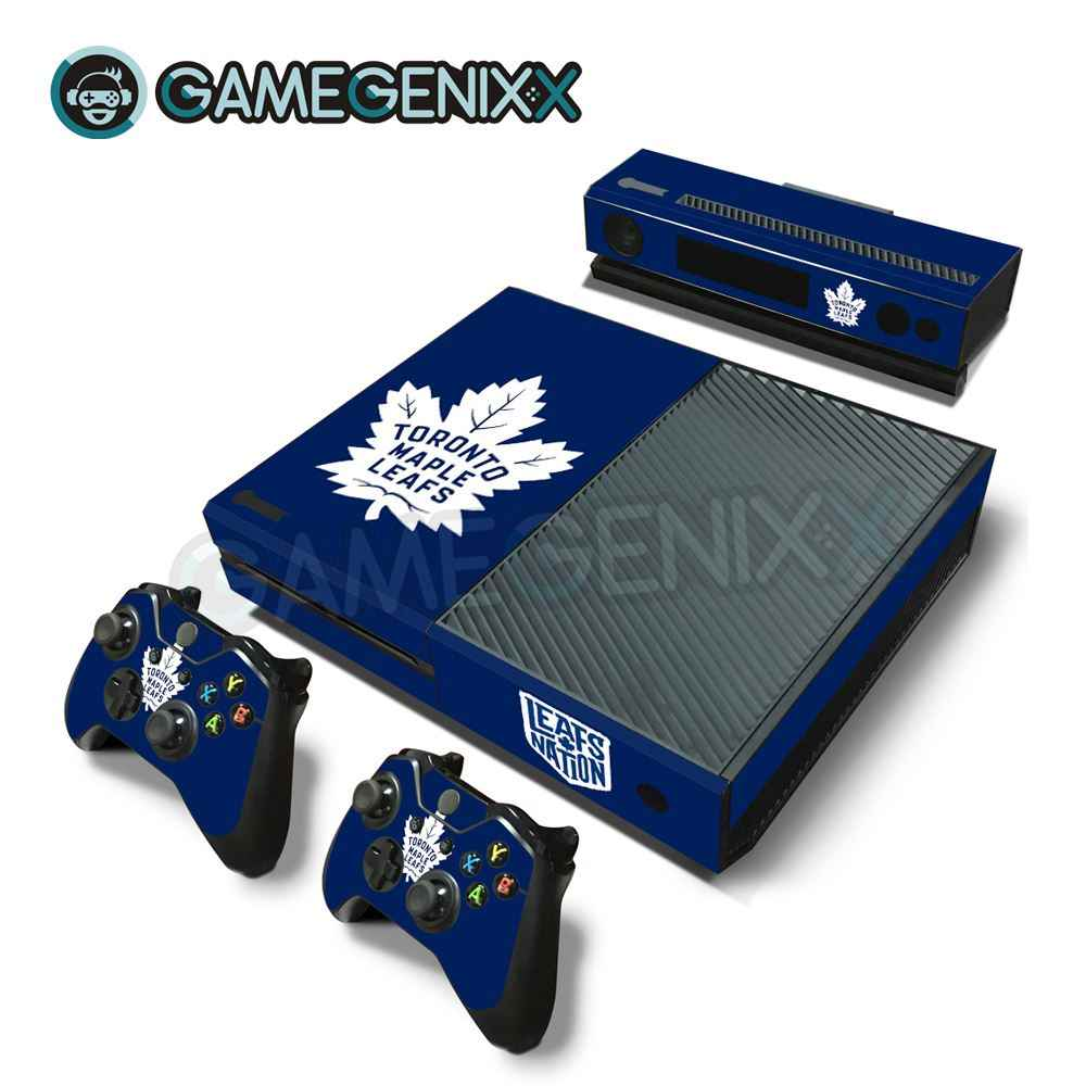 Gamegenixx Skin Sticker Vinyl Decal For Xbox One Console And 2 Controllers Toronto Maple Leafs Aliexpress