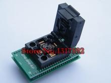 Livraison gratuite QFP48 à DIP48 IC prise de Test 0.5mm Picth/LQFP48 à DIP48 adaptateur de programmation/adaptateur TQFP48 à DIP48
