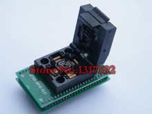 free shipping QFP48 to DIP48 IC Test Socket 0.5mm Picth /LQFP48 tO DIP48 Programming Adapter / TQFP48 to DIP48Adapter