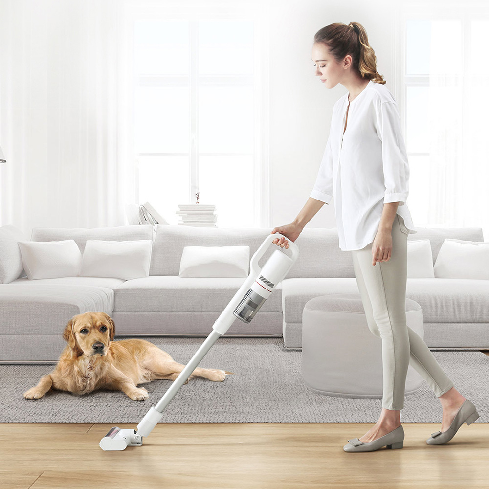 Xiaomi ROIDMI Portable Handheld Vacuum Cleaner 18500Pa Strong Suction Dust Collector APP Smart Cconnection With LED Sensor Light xiaomi roidmi xcq01rm portable handheld strong suction vacuum cleaner z25