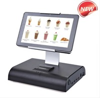 10 inch customized touch screen all in one pos terminal